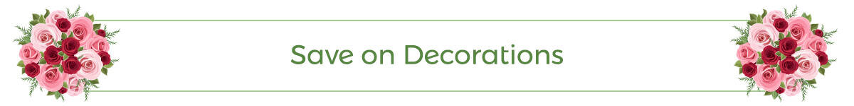 Save on Decorations
