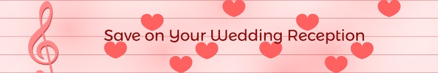 Save on Your Wedding Reception