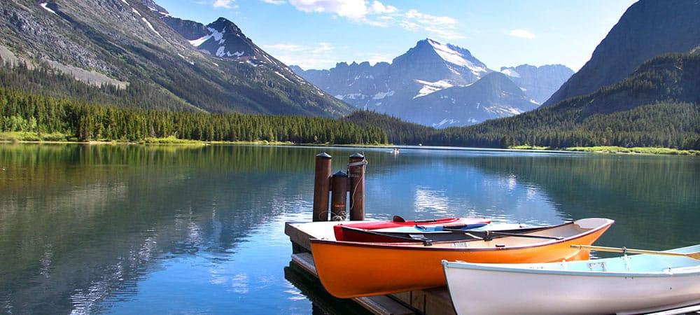 Glacier National Park flights