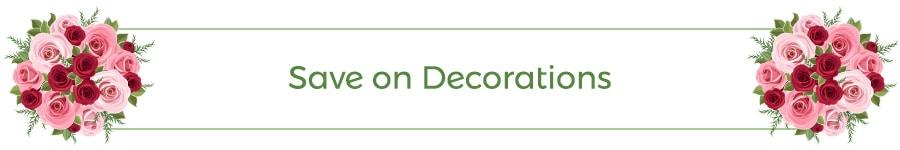 Save on Decorations