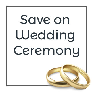 Save on Wedding Ceremony