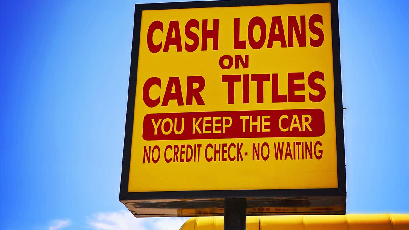 Use your car title as loan collateral