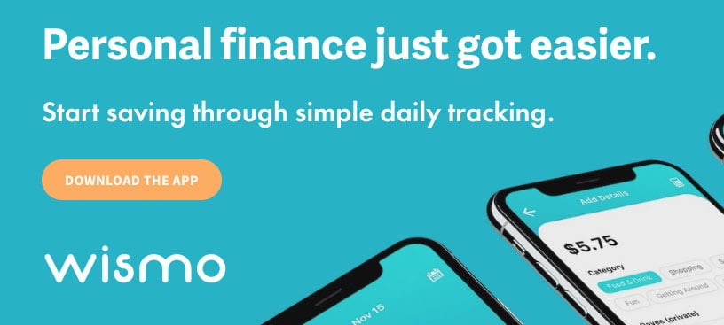wismo - Personal finance just got easier. Start saving through simple daily tracking.