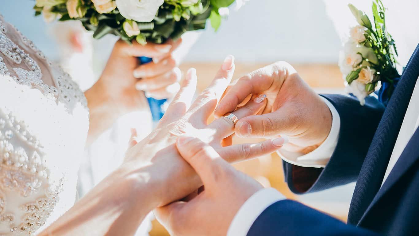 Wedding. The betrothal
