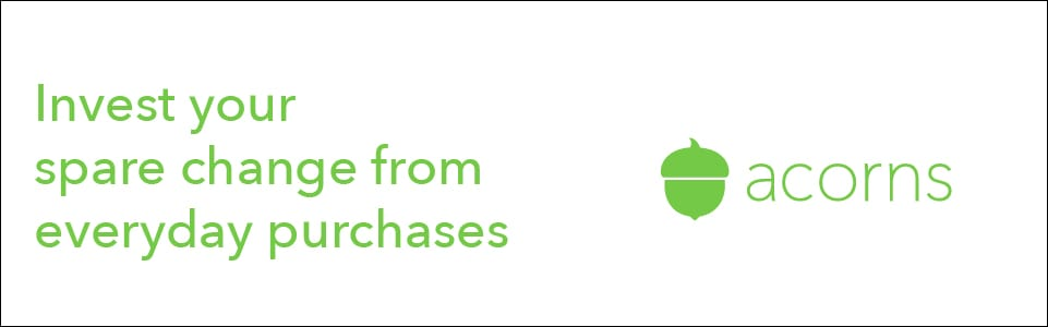 Acorns - Invest your spare change from everyday purchases