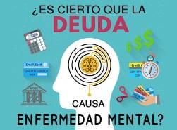 ¿Es cierto que la deuda causa enfermedad mental?