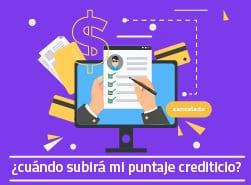 Si pago mi tarjeta de crédito, ¿cuándo subirá mi puntaje crediticio?
