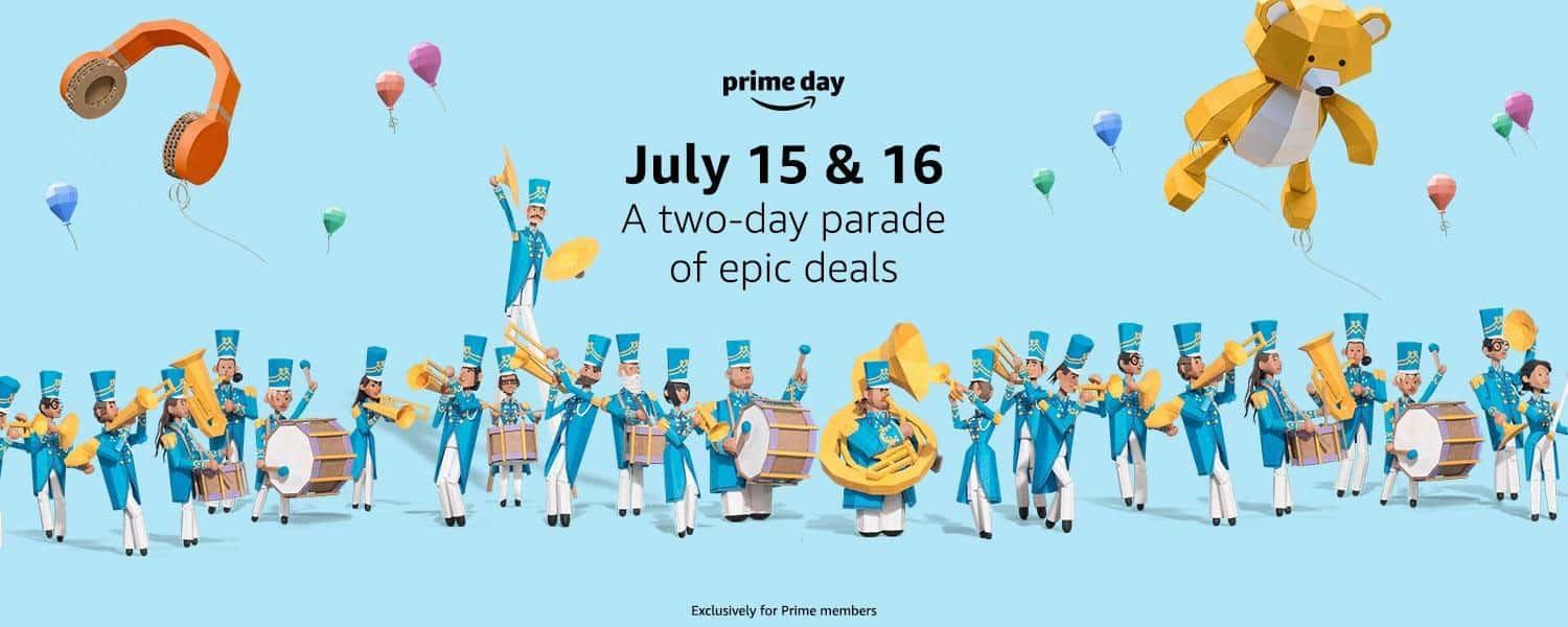 Amazon Prime Day 2019 - July 15 & 16 - A two-day parade of epic deals - Exclusive for Prime members