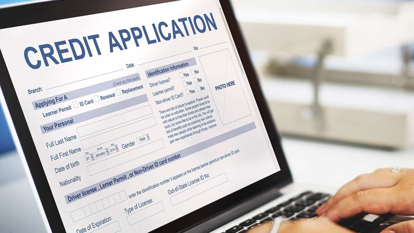 Be selective with credit applications you fill out