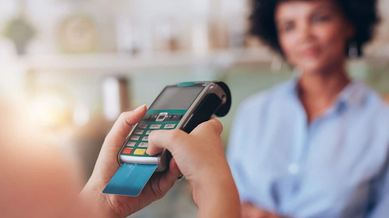 Becoming financially dependent on credit cards