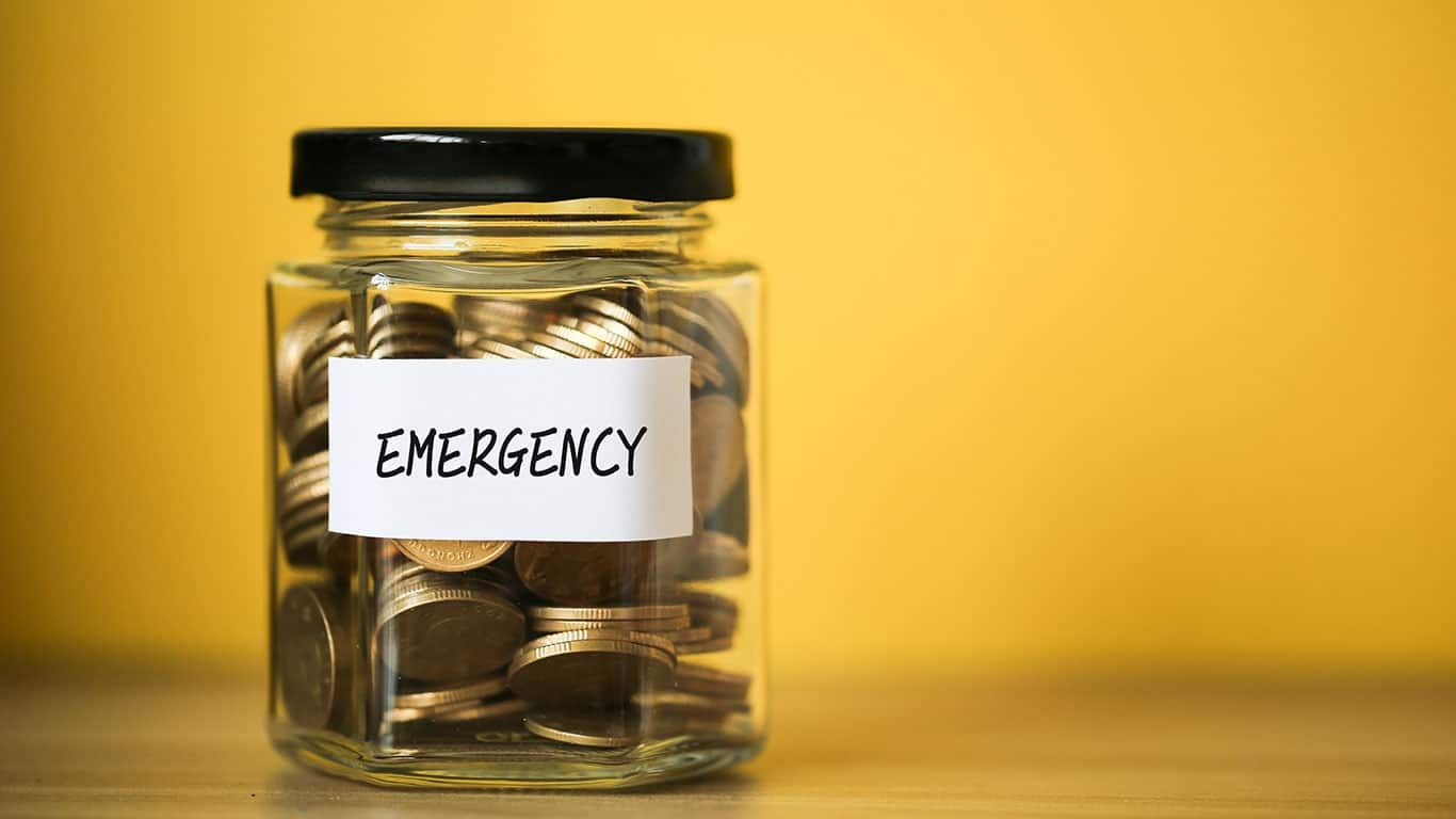 Creating an emergency fund addresses the unexpected