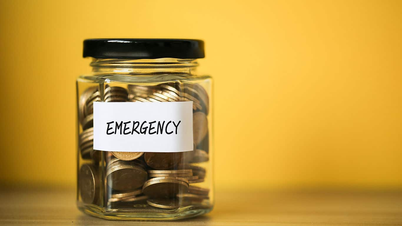 Failing to make an emergency fund