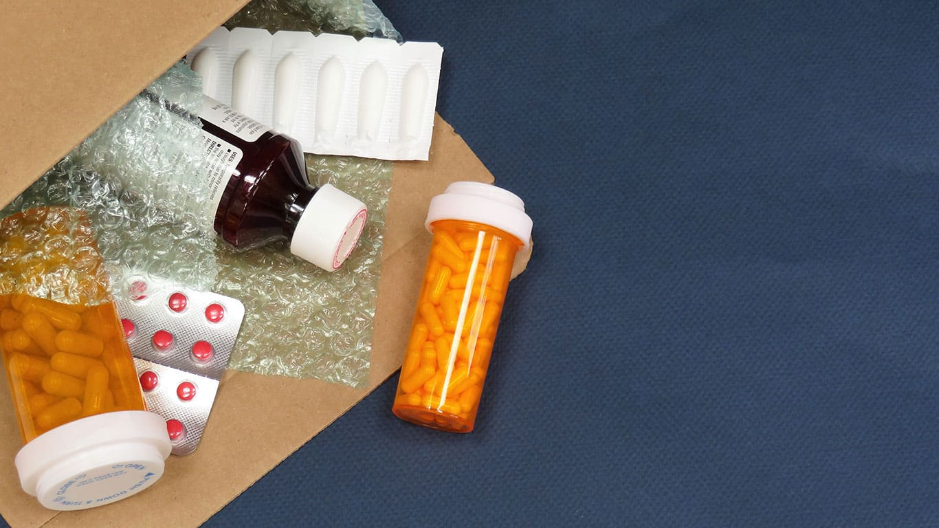Get medications by mail