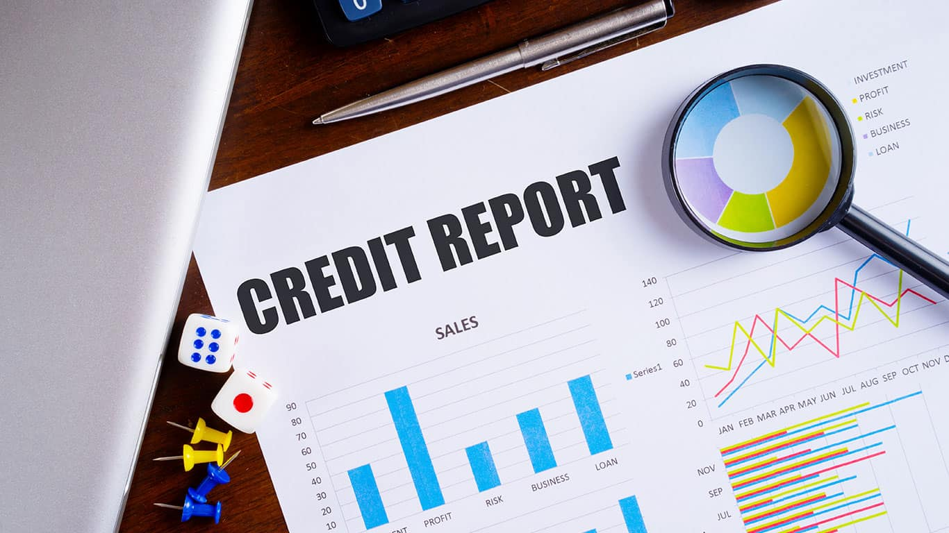 Start checking your credit report
