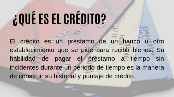 imagen qué es el crédito