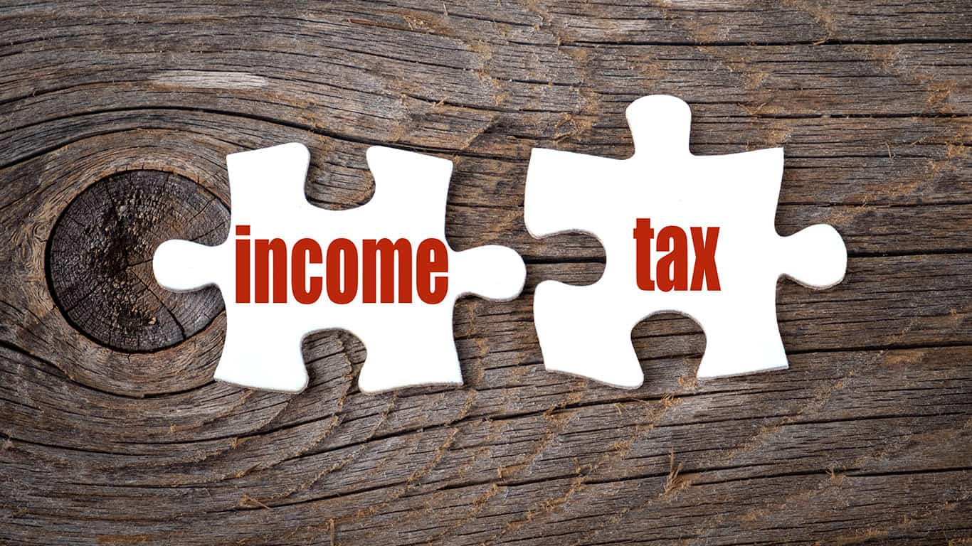 Deducting income taxes is painful