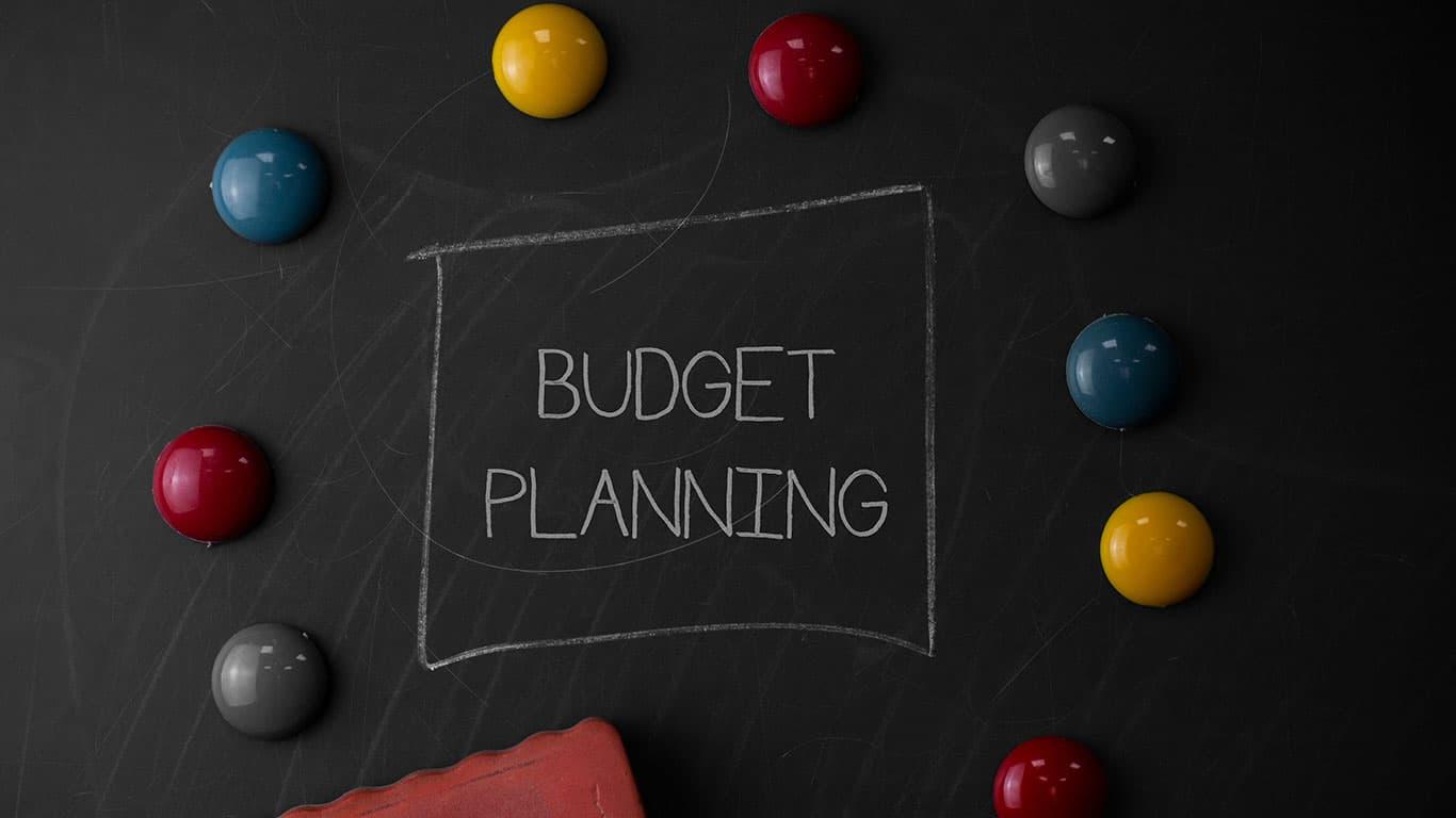 Stick to a budget