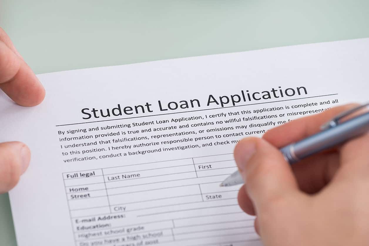 Cosigner on a student loan