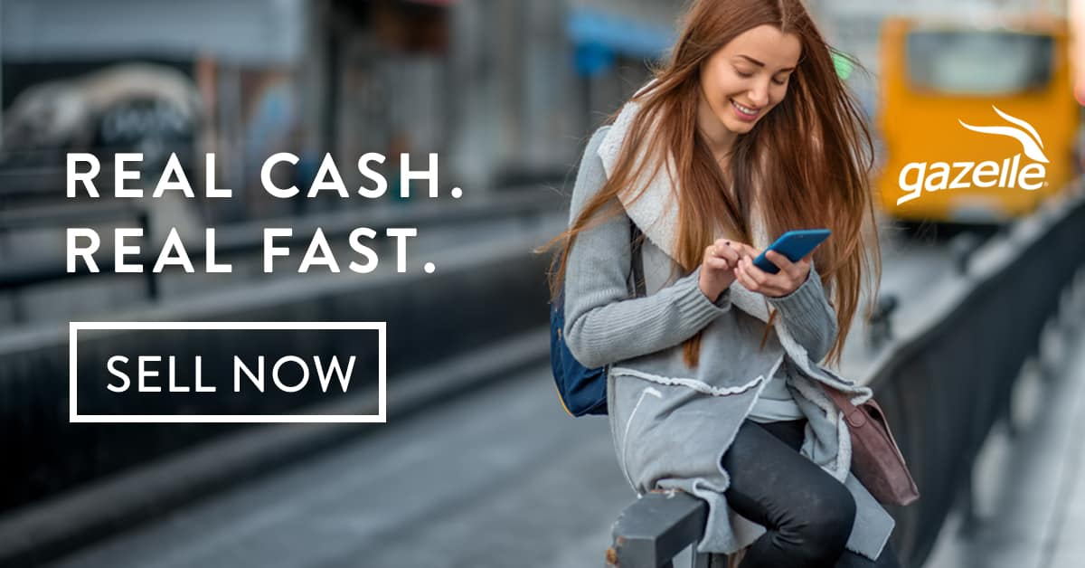 Gazelle - Real Cash. Real Fast. Sell Now