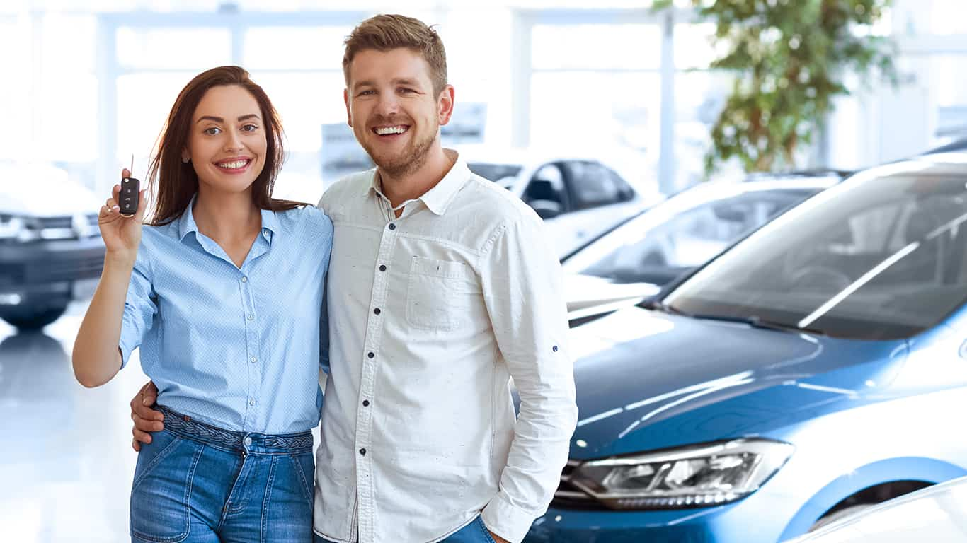 Buy a new vehicle at 0% interest