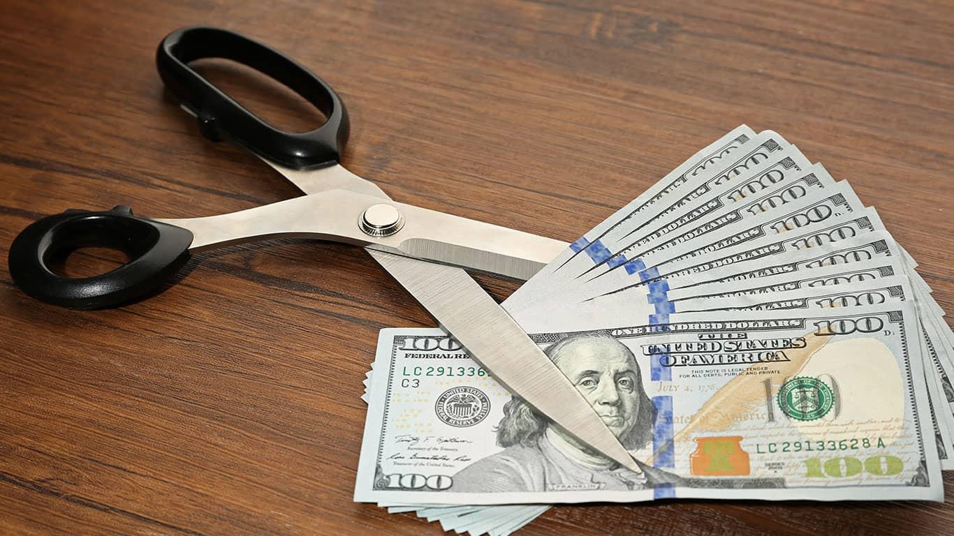 Cut spending immediately