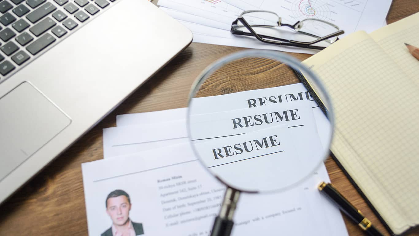 Keep your resume up to date