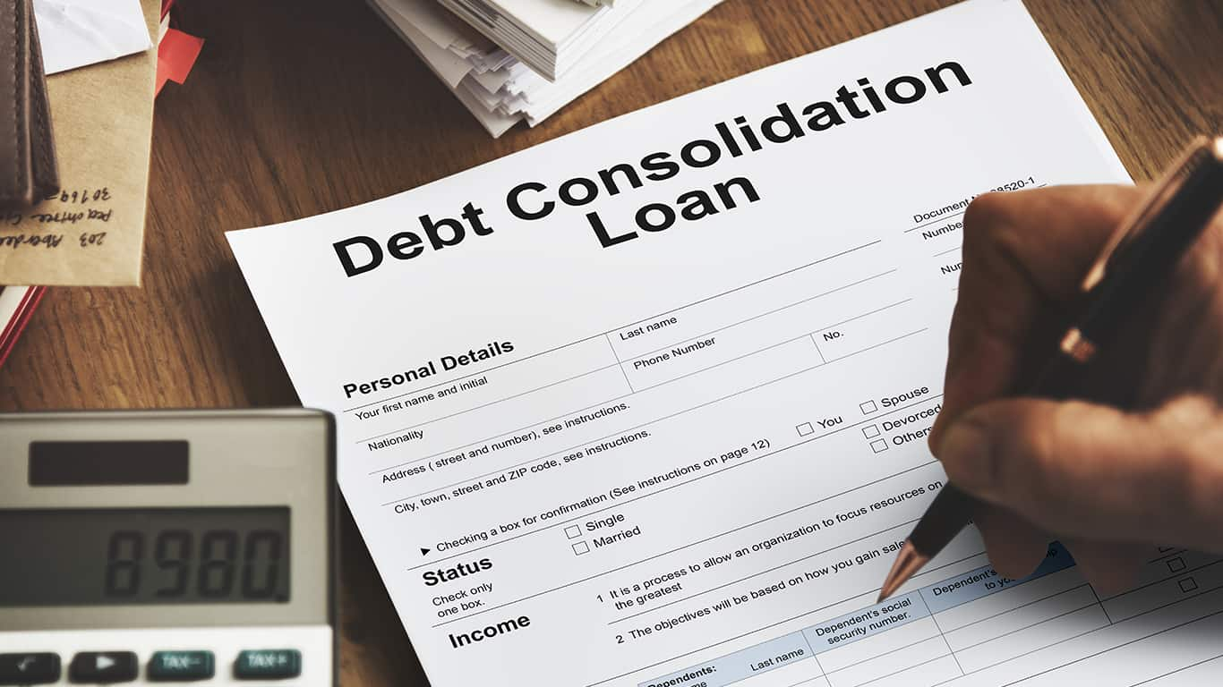 Consolidate multiple loans