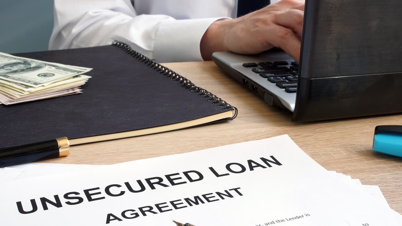 Joint responsibility for unsecured debt