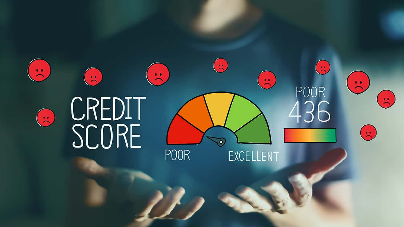 Leverage credit options for low credit score candidates
