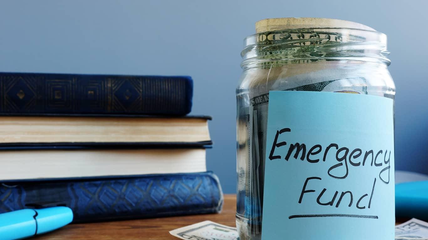 Neglecting emergency savings