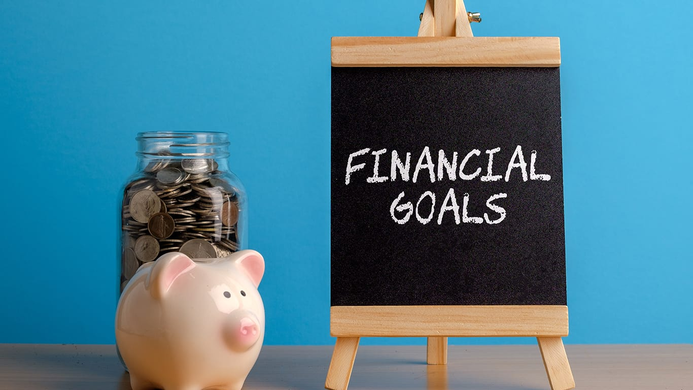 Slacking on financial goals
