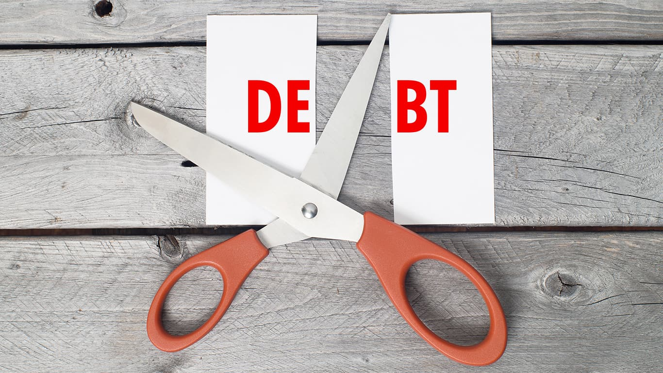 Someone else paid off your previous debt