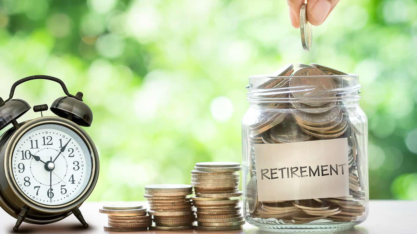 Start saving for retirement first