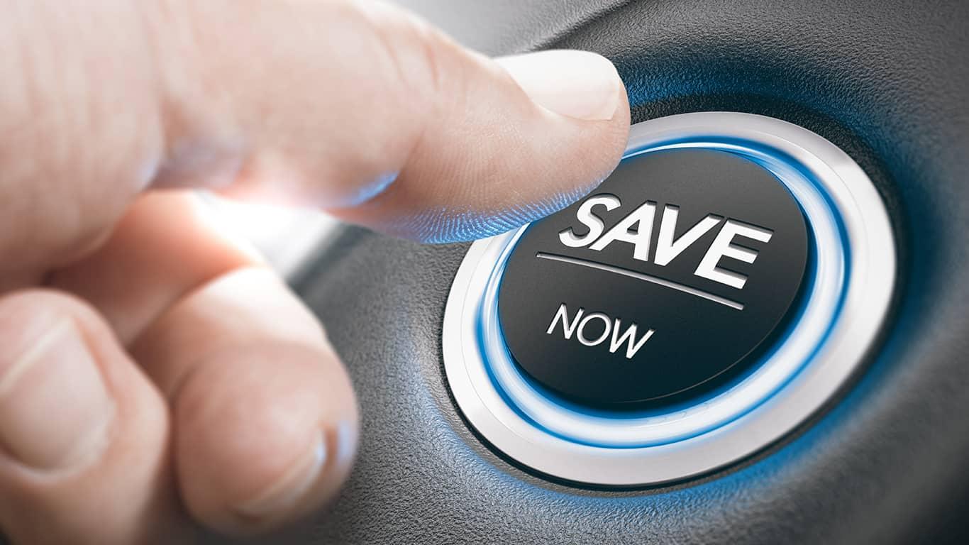 Start saving now for next year