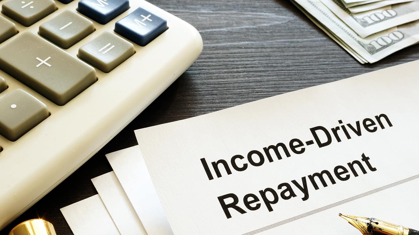 Switch to an Income Driven Repayment Plan