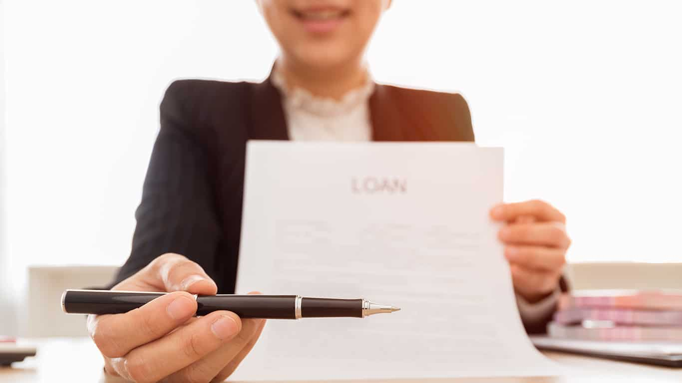 You can no longer get credit from a reputable lender