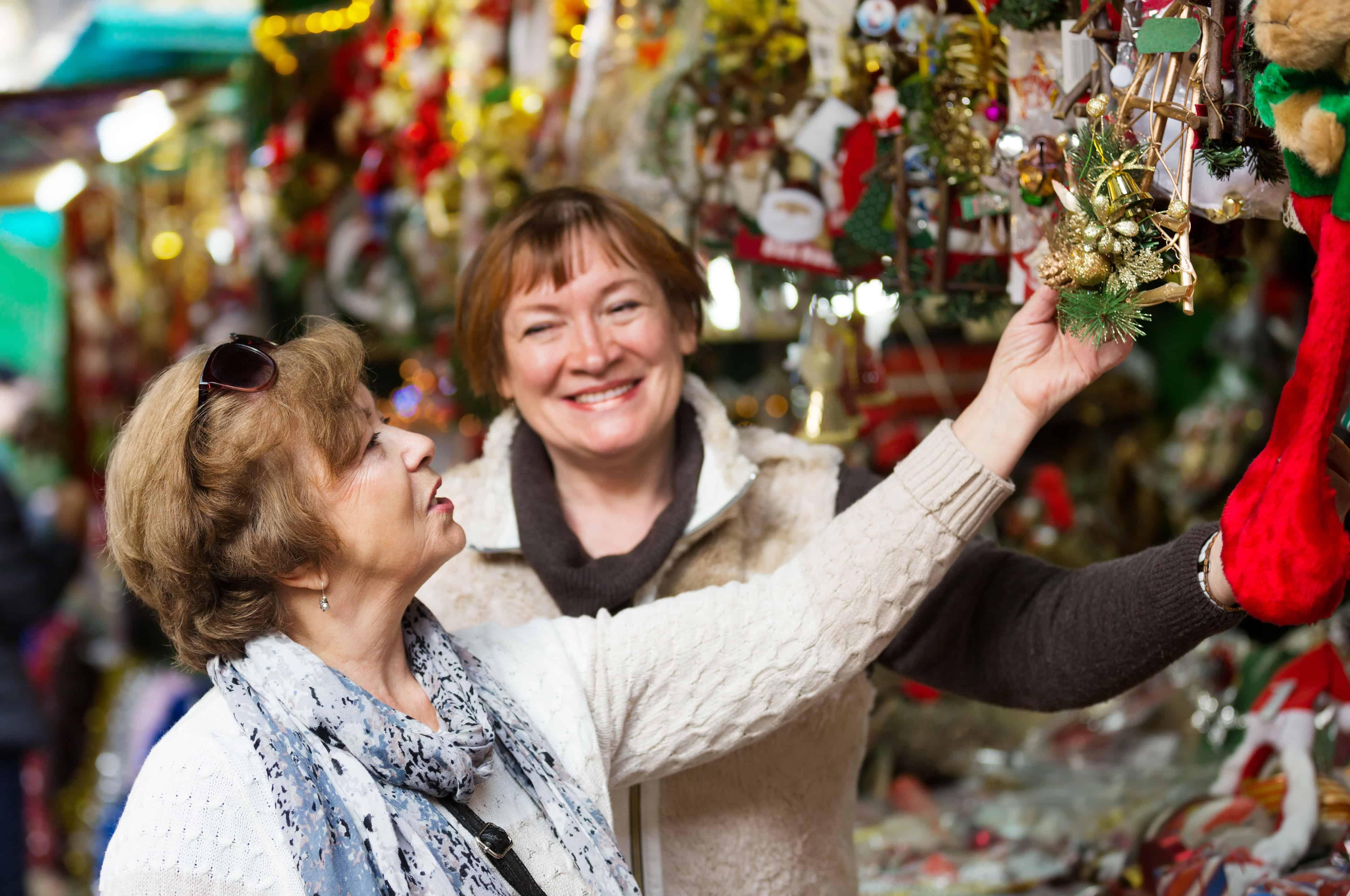 Holiday craft fairs