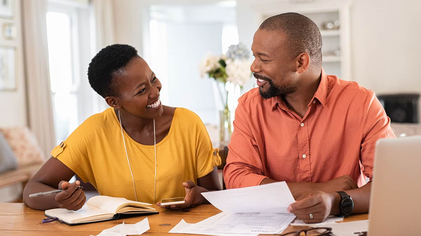 Create a budget that works for both of you