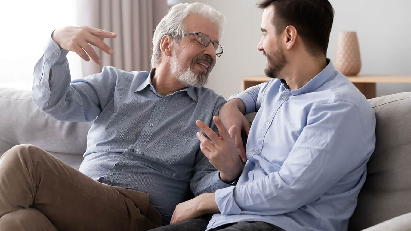 Learn from and listen to older (or smarter) people in your life.