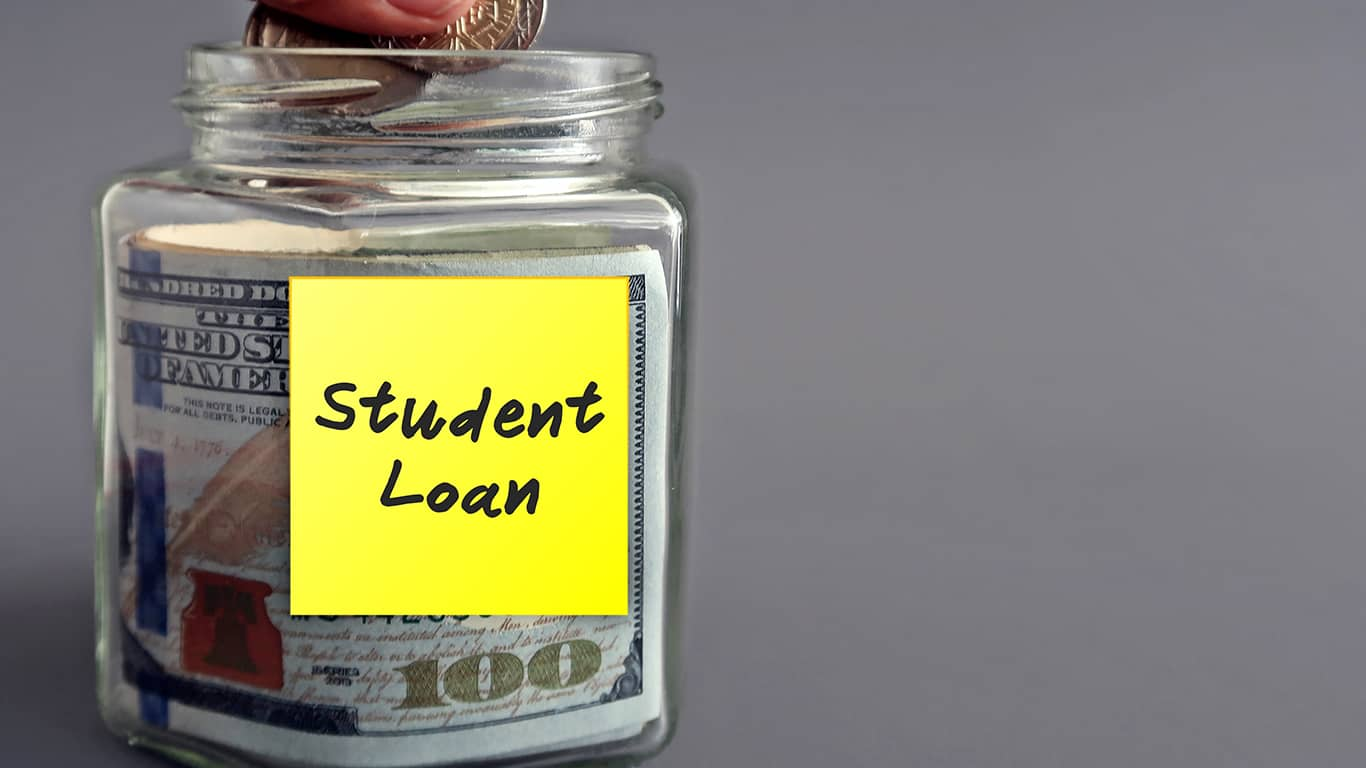 Look for industries and careers that help pay off student loans