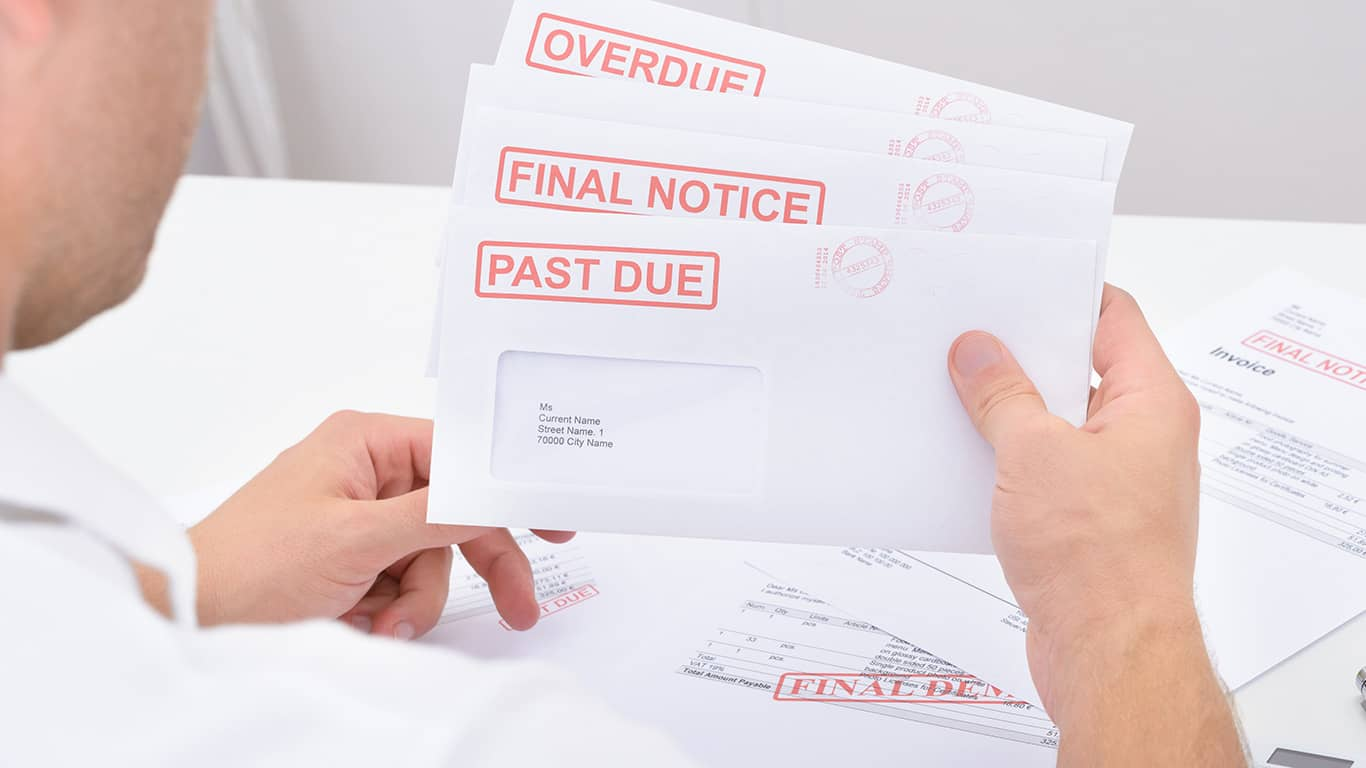 Debt validation notice