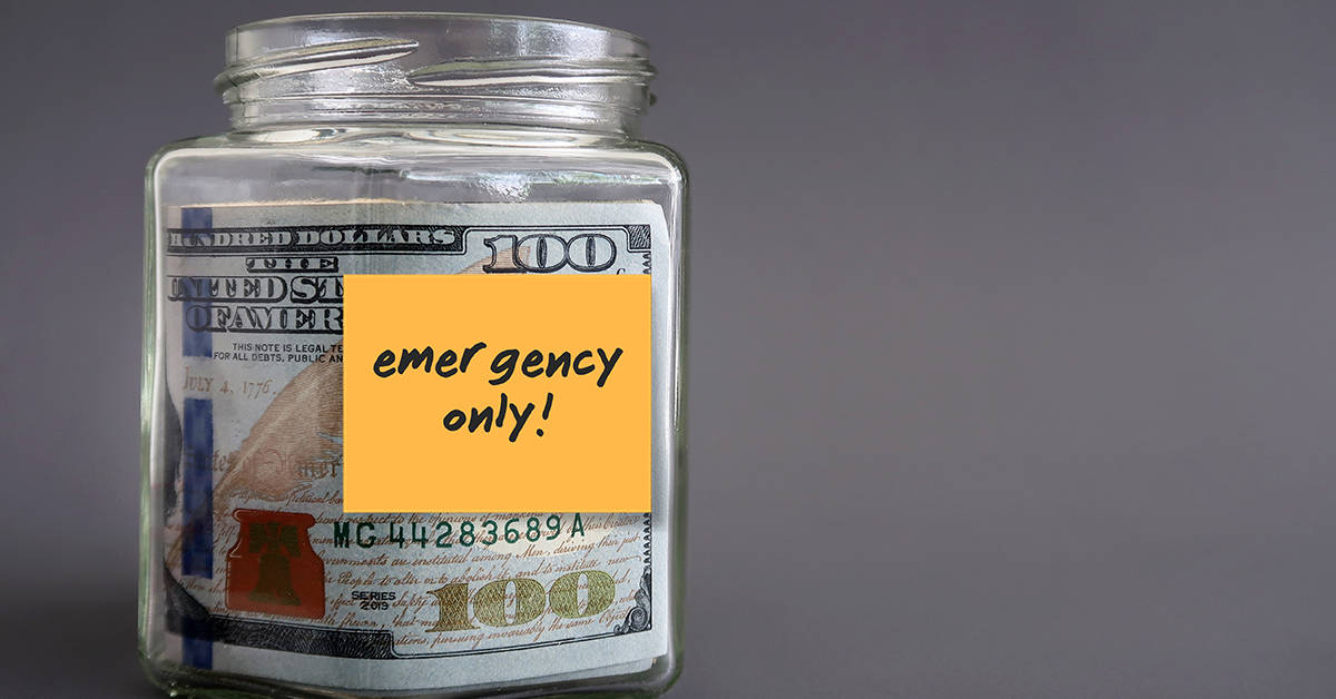 How much money do I have in emergency savings