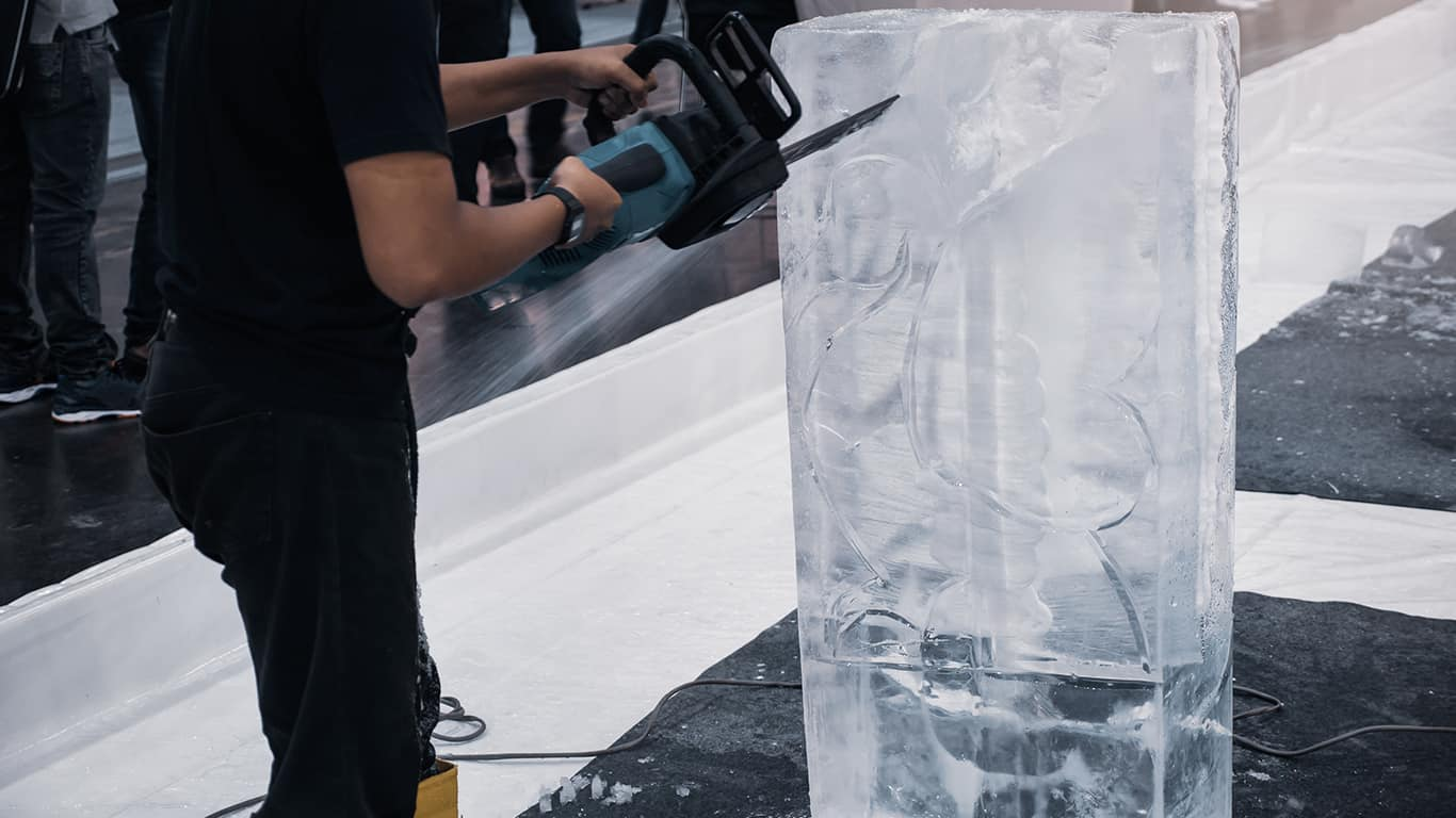 Ice carvers