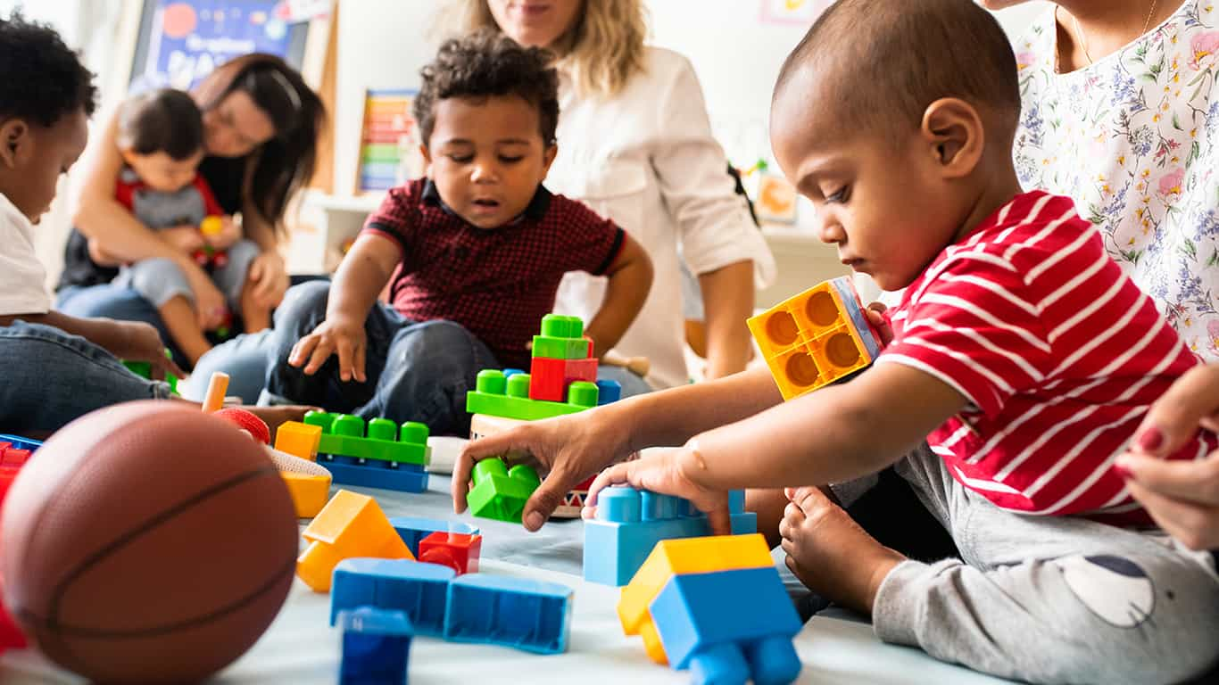 Join a babysitting cooperative