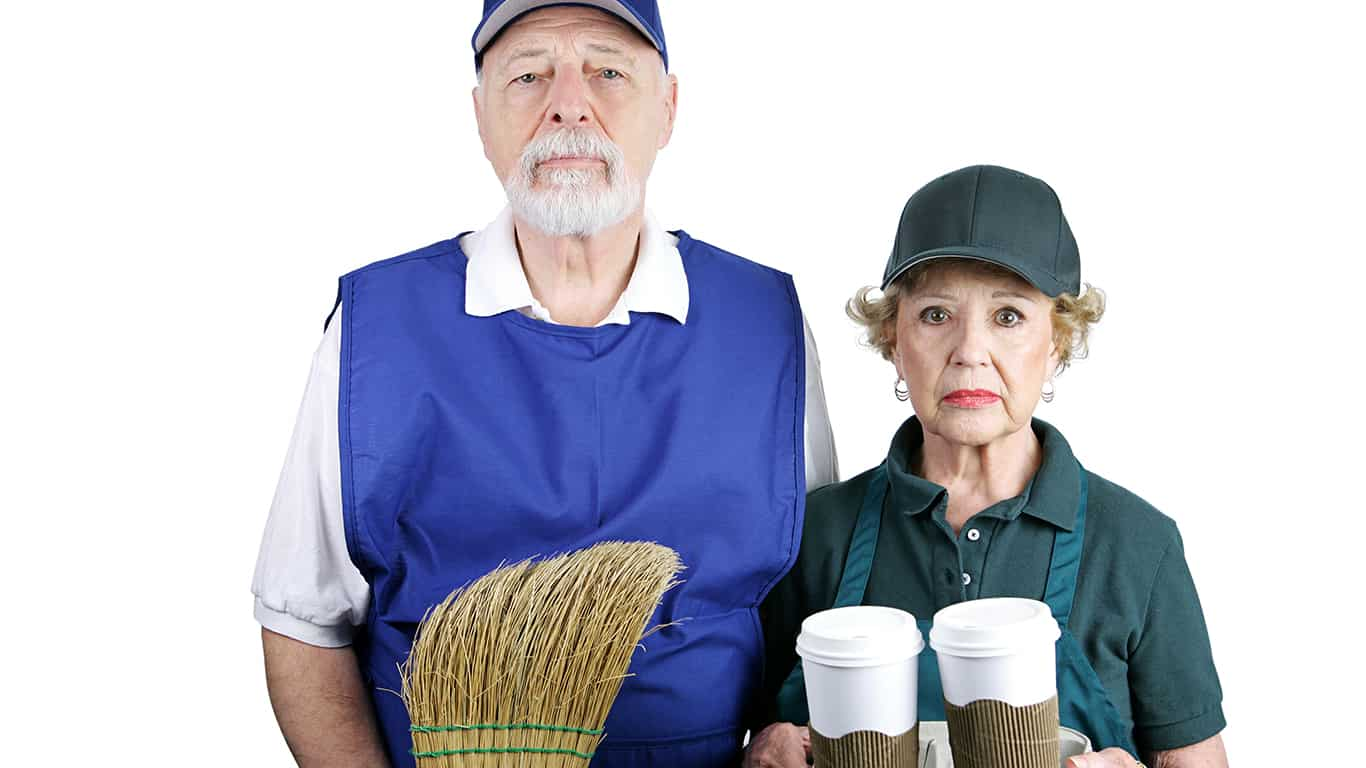 Many people cant afford to retire at age 65