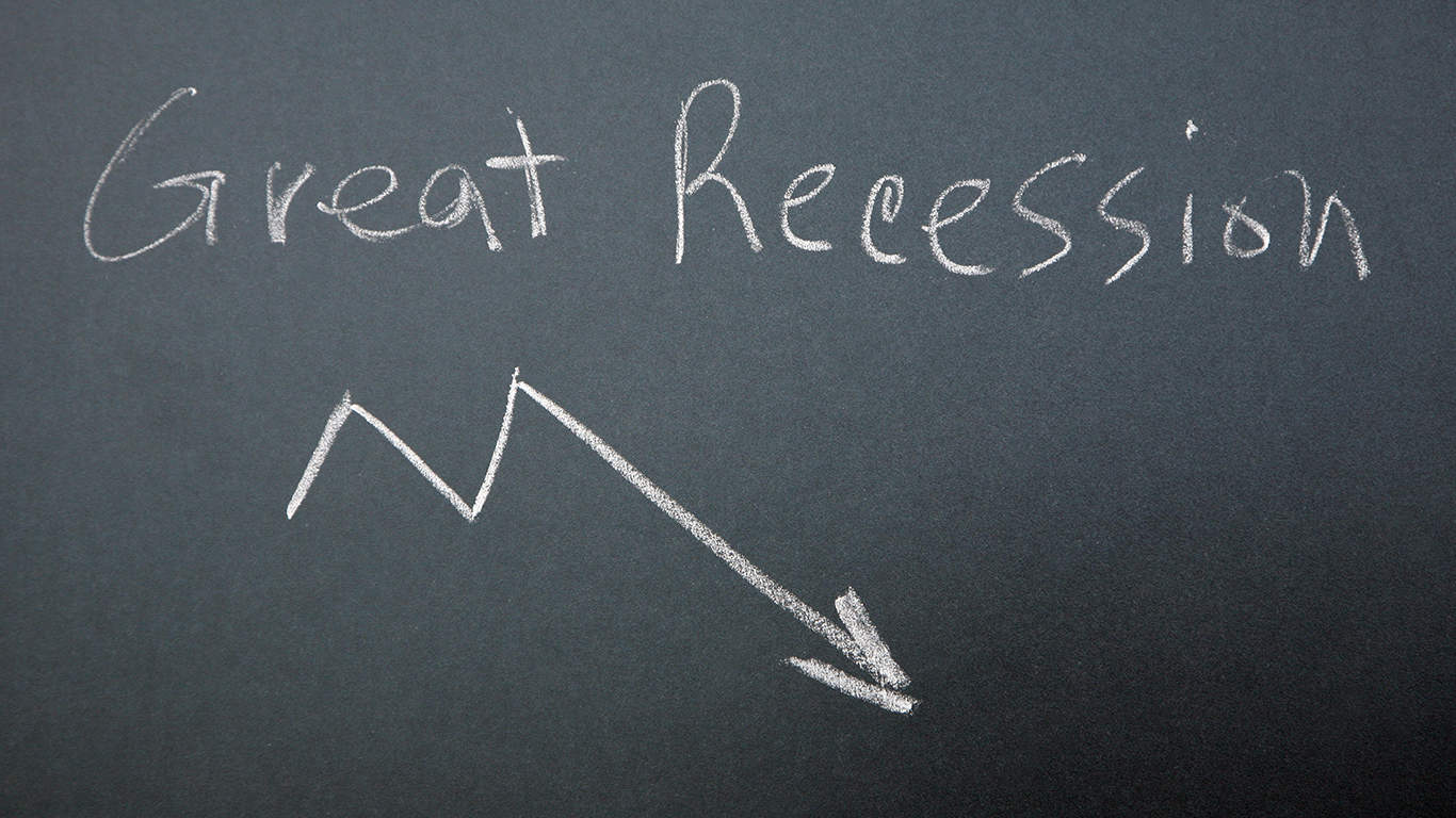 Many still recovering from the Great Recession