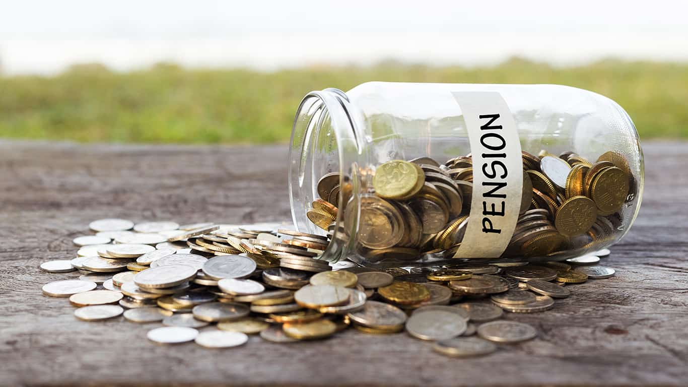 Pensions are a thing of the past for most non-government employees
