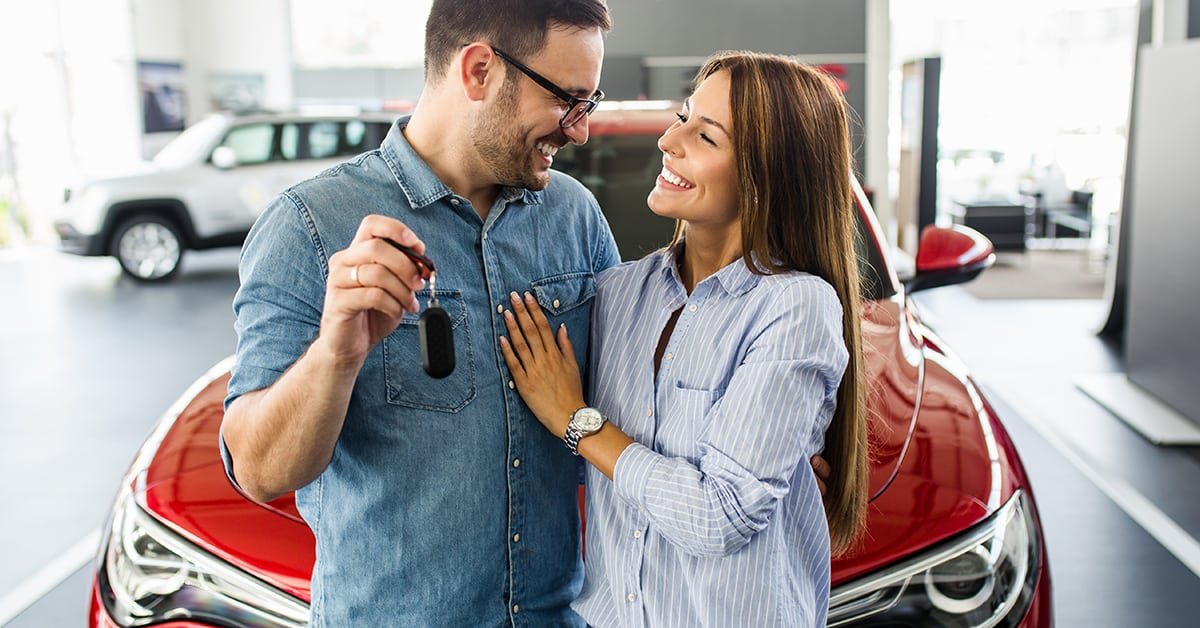 What if I saved a larger down payment before buying a new car