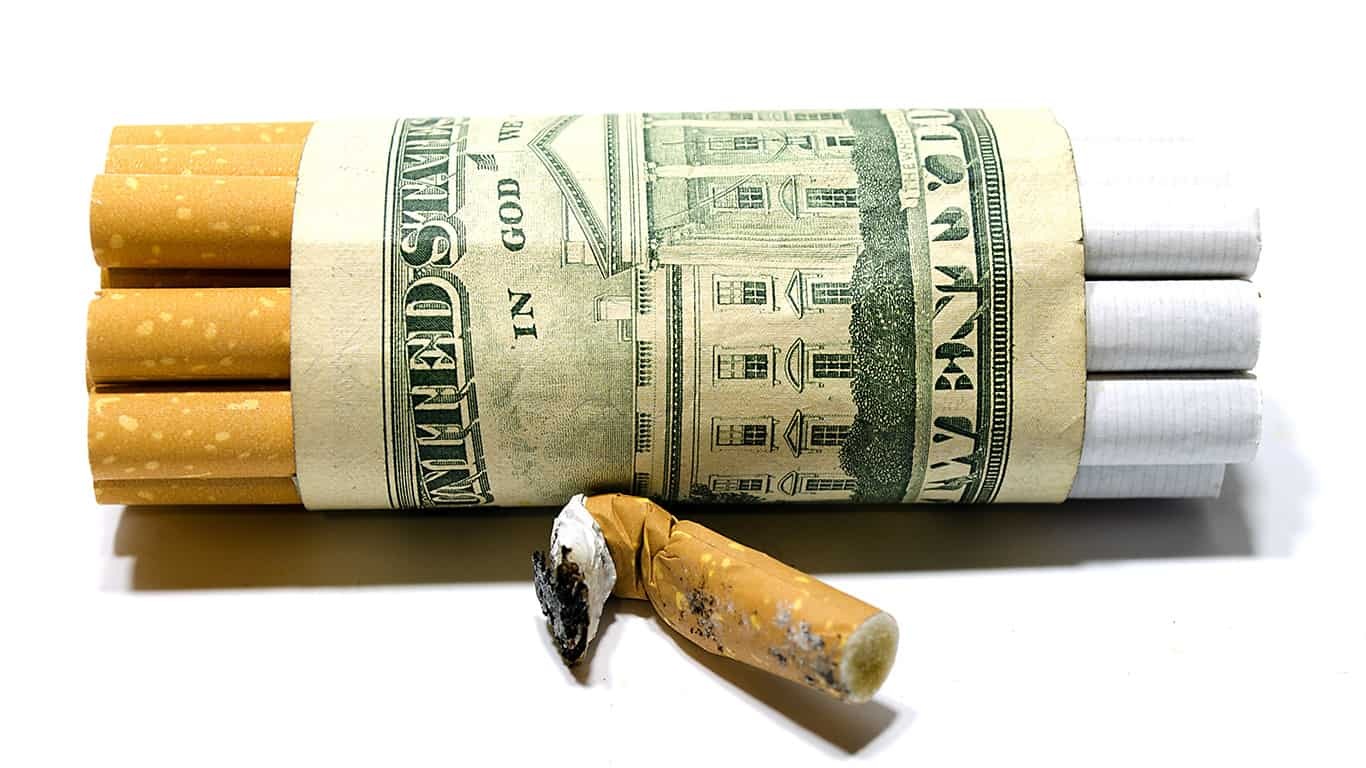 A lifetime of smoking related health care costs adds up