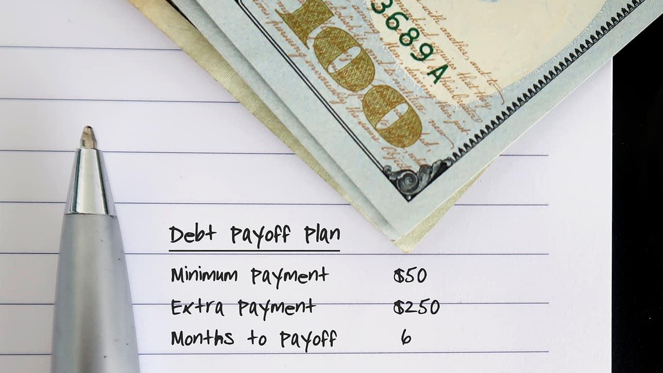 Create a debt payoff plan